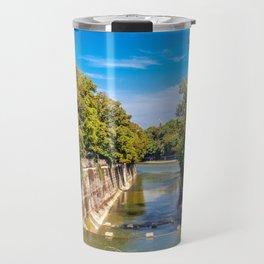 DE - Bavaria : Isar canal Travel Mug