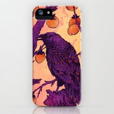 Raven and Persimmons Slim Case iPhone SE