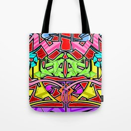 Abstract Arrows Tote Bag