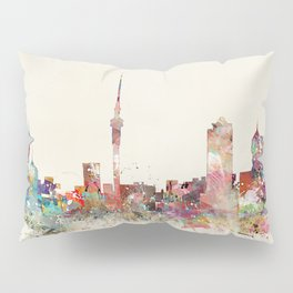 auckland new zealand Pillow Sham
