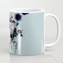 Modern Geometric Dragonfly v2 Coffee Mug