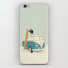 Wild Surfer iPhone & iPod Skin