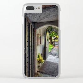 St Gwyddelan Church Clear iPhone Case