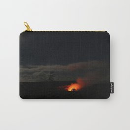 Hawaii, full moon and valcano Carry-All Pouch