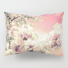 Pink Lavender Flowers Pillow Sham