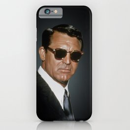 We should all just smell well and enjoy ourselves more (Cary Grant) iPhone Case