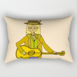 tom petty tribute // forever love your rock and roll soul Rectangular Pillow