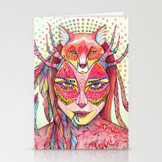 spectrum (alter ego 2.0) Stationery Cards
