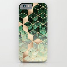 Leaves And Cubes Slim Case iPhone 6s