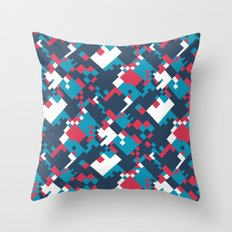 pixelated 2.0 Throw Pillow