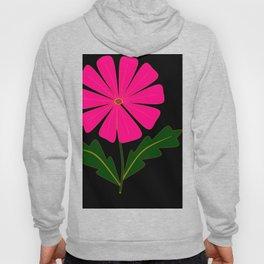 Big Pink Flower Hoody