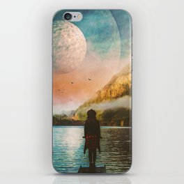 Across The River iPhone Skin