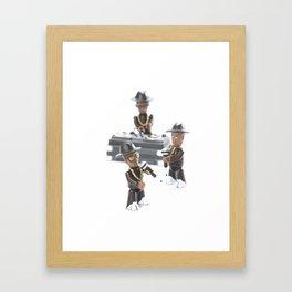 toy 4 Framed Art Print