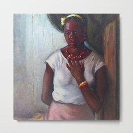 African American Masterpiece 'Katy, Queen of Tennessee' by Frank Stanley Herring Metal Print