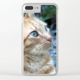 Ginger Boy Clear iPhone Case