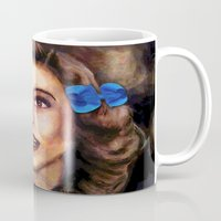 dorothy Mugs featuring Dorothy by Amanda Lee