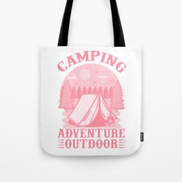 Camping Adventure Outdoor pw Tote Bag
