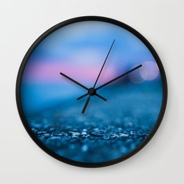 Beautiful dew drops Wall Clock