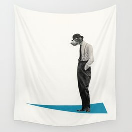 Down Dog Wall Tapestry