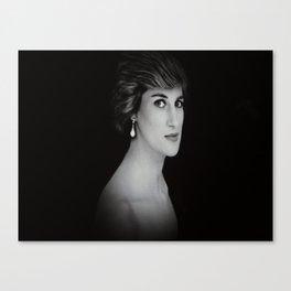 London Princess Diana Canvas Print