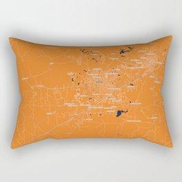 FanMap | NCAA Auburn #02 Rectangular Pillow