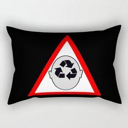 Recycling head Rectangular Pillow