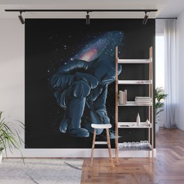Welder In Space Wall Mural