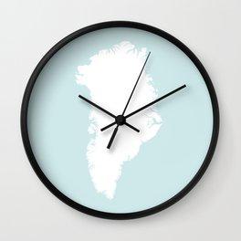 GROENLAND Wall Clock