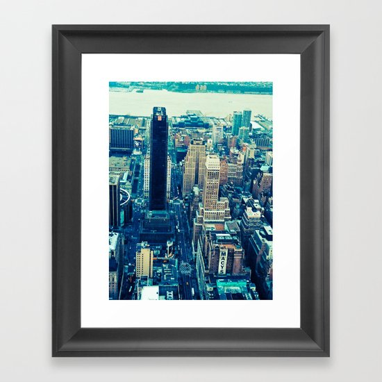 NEW YORK//COLOUR *2 Framed Art Print