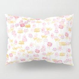cosmos flower pattern Pillow Sham