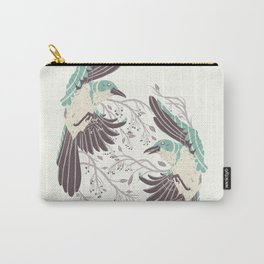 Birds of Summer Carry-All Pouch