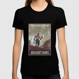 Mass Effect 3- Sentinel Propaganda T-shirt