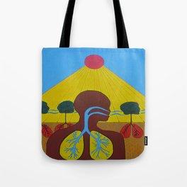 Breathe of Life Tote Bag