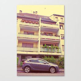 Opel Astra - The Undertaker Canvas Print