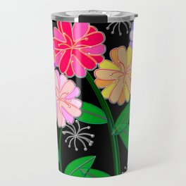 Plasticine Flowers with Dandelion Seed Travel Mug