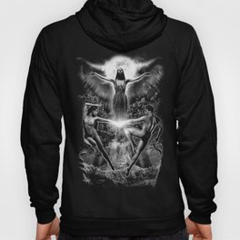 VI. The Lovers Tarot Illustration Hoody