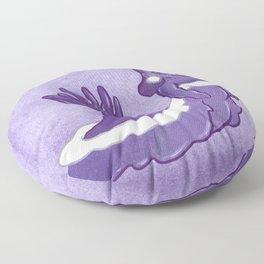Queen Sea Slug Floor Pillow