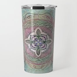 the four directions, a medicine wheel Travel Mug