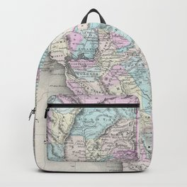 Vintage Map of California (1855) Backpack