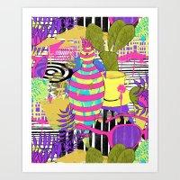lungomare Art Print