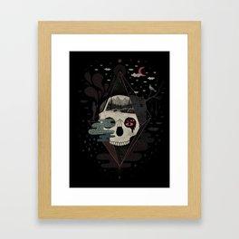 Happy Riddle Framed Art Print