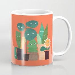 The plants are watching (paranoidos maximucho) Coffee Mug