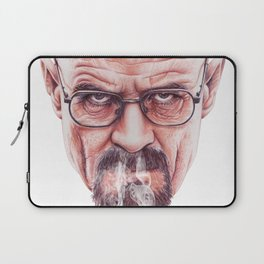 Walter White on Vapor by Cleofe Pacaña Laptop Sleeve