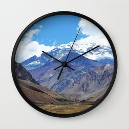 ACONCAGUA I Wall Clock