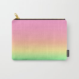 Pastel Rainbow 4 Carry-All Pouch