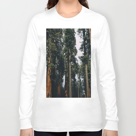 Woods #fog Long Sleeve T-shirt