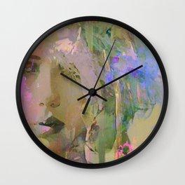 The nameless girl Wall Clock