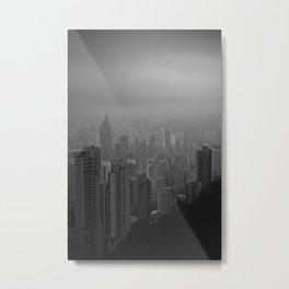 Hong Kong Island Metal Print