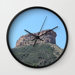 Mesa Verde Wall Clock