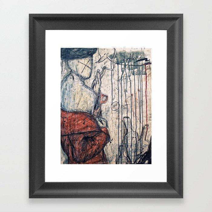 Voolare Framed Art Print